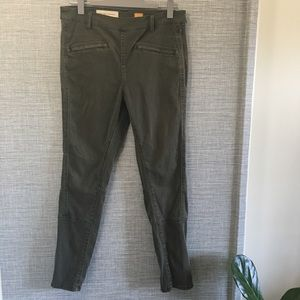 Pilcro and the Letterpress Green Pants No. 30